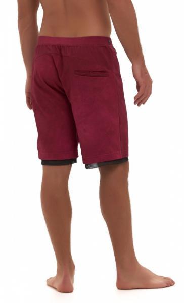Active Yoga Shorts - Navy Blue - 1