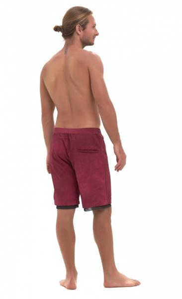 Active Yoga Shorts - Navy Blue - 2