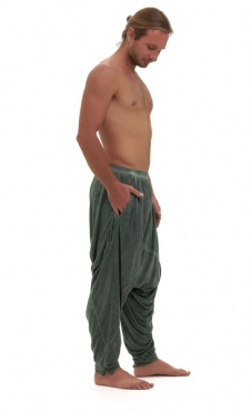 Ashram Pants Stone wash Green