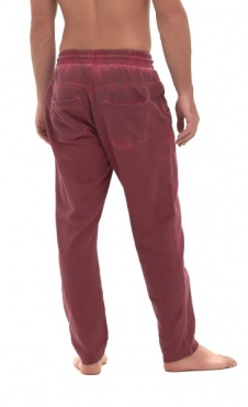 Par Mens Yoga Pants - Wine wash