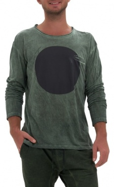 Waka Longsleeve Shirt - Green wash