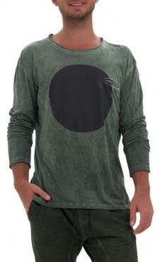 Waka Longsleeve Shirt - Green wash