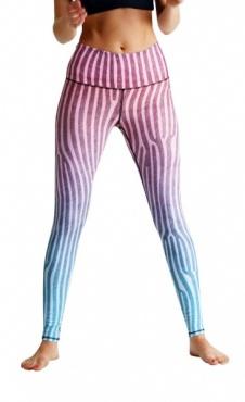 OMbré printed leggings