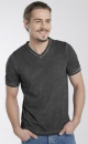 Cool Pigment Dyed Mens T - Black - 1