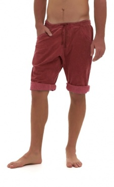 Asana Yoga Shorts - Wine Wash