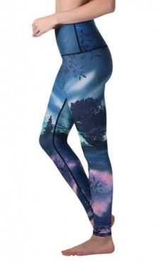 Northern Lights Printed Leggings
