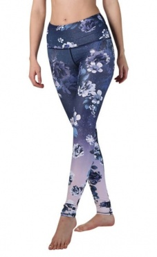 Flowerful Printed Yoga Leggings