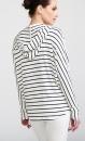 Mellow Hoodie - Navy Stripes - 2