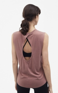 Filippa K Layer Tank - Rosewood