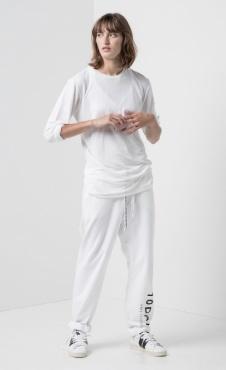 10Days Loose Unisex Jogger White