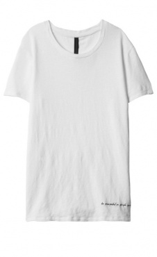10Days Long Linen Tee - White