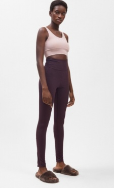Filippa K Compression Zip Leggings - Fondant