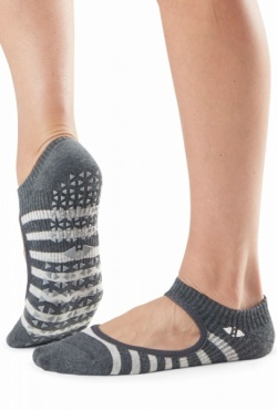 Tavi Noir Grip socks Chey - Space Stripe