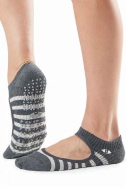 Tavi Noir Grip socks Chey - Space Stripe