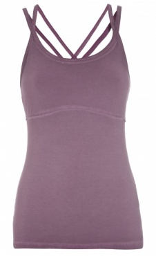 Strap Yoga Top - Sappan Wood