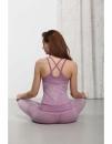 Strap Yoga Top - Sappan Wood - 2