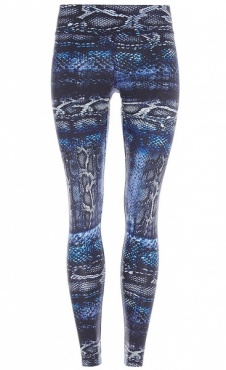 Natural Printed Legging Lizard