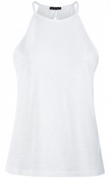 Neckholder Top -White