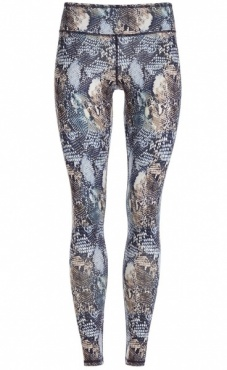 Natural Printed Legging Virtual Snake
