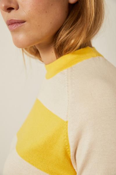 Lanius Knitted Half Sleeve Sweater - 2