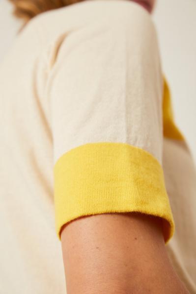 Lanius Knitted Half Sleeve Sweater - 4