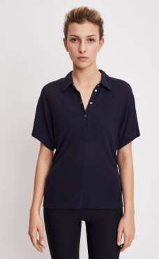 Filippa K Rib Polo Shirt