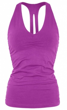 V-neck Top - Plum