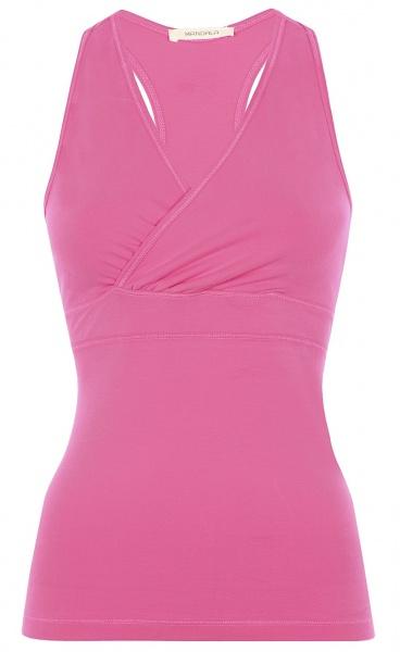 Wrap Yoga Top - Phlox Pink