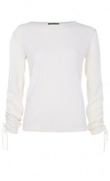 Barre Sweater - White