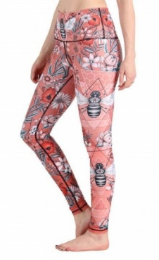 Buzz Because Recycled Yoga Legging