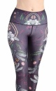 Fly By Night Cropped Recycled Yoga Legging - 5