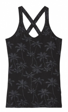 10Days Wrapper Palm Tree- Black