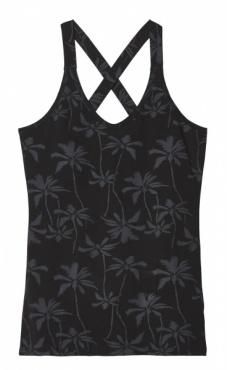 10Days Wrapper Palm Tree- Black