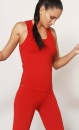 Move It racerback - Warm Red - 2