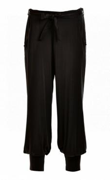 Relaxed Yoga Pants - Black