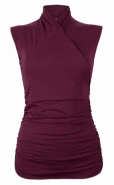 Yoga Top Good Karma - Deep Cherry