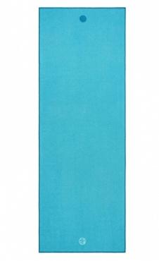 Turquoise Manduka Yoga Towel