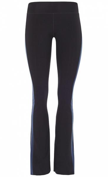 Flared Tuxedo Pants - Black - 1
