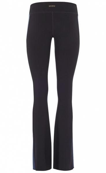 Flared Tuxedo Pants - Black - 2