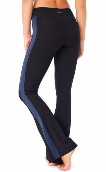 Flared Tuxedo Pants - Black - 3