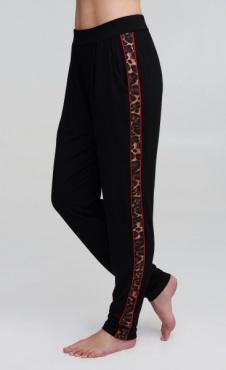 Divine Pants - Black Scarlet Leo