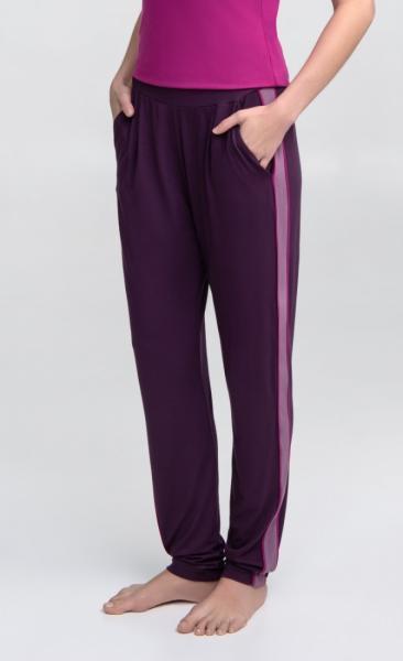 Divine Pants - Berry Heather Fuchsia - 4