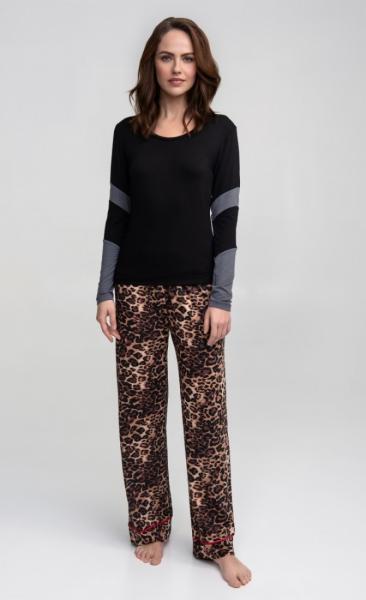 PJ Pants Leopard / Scarlet - 4