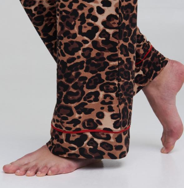 PJ Pants Leopard / Scarlet - 5
