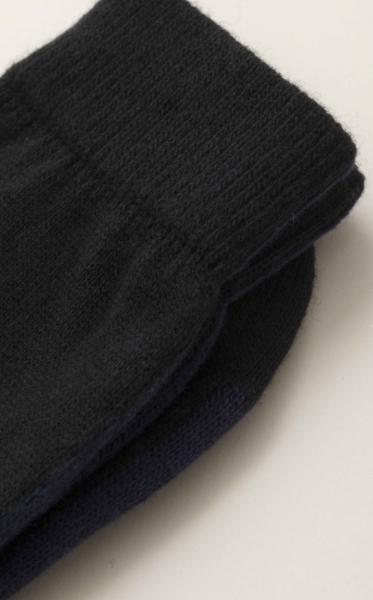Warm Kniited Socks - Black - 2