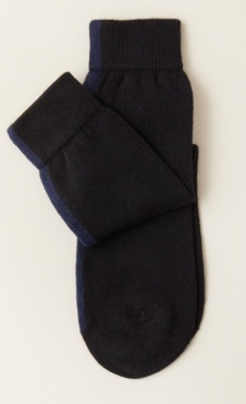 Warm Kniited Socks - Black