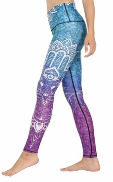 Third Eye Chakra Recycled Legging
