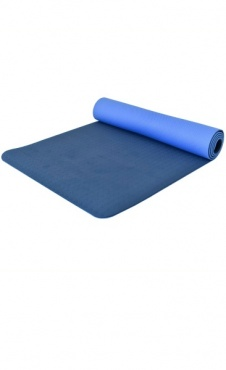 Love Generation ECO Yoga Mat 6mm - Jeansblauw