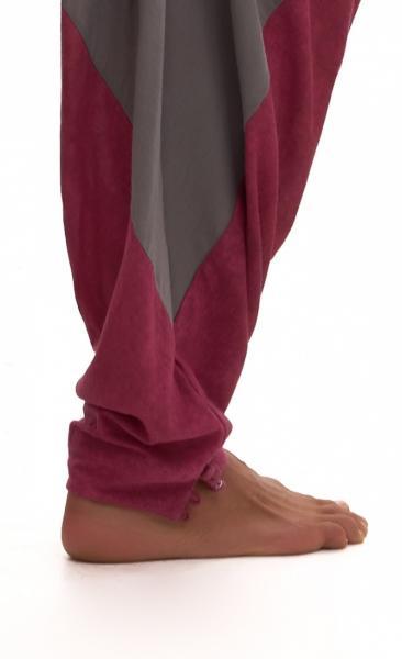 Ashram Pants Grey - Wine wash - 2