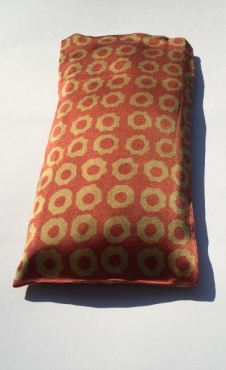 Eye Pillow Sun Flowers - Gold